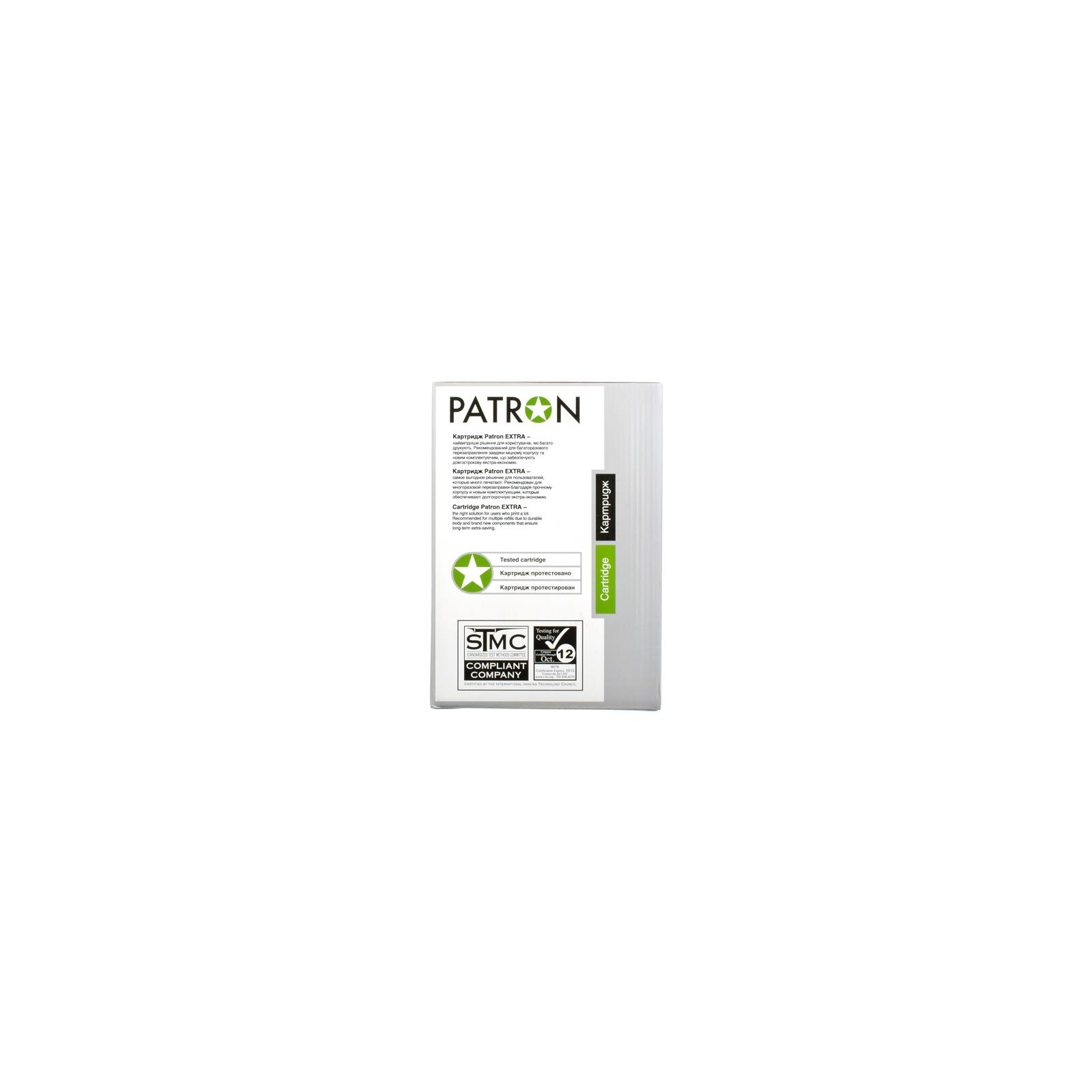 Картридж PATRON HP CLJ 5500/ 5550 BLACK /PN-645AKR (CT-HP-C9730A-B-PN-R) изображение 6