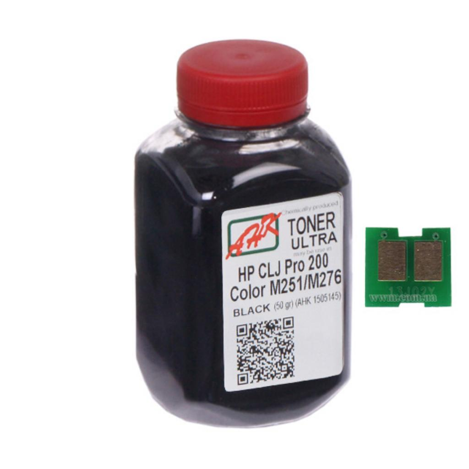 Тонер AHK HP CLJ Pro 200/M251/M276n (131A) Black +chip (1505157)