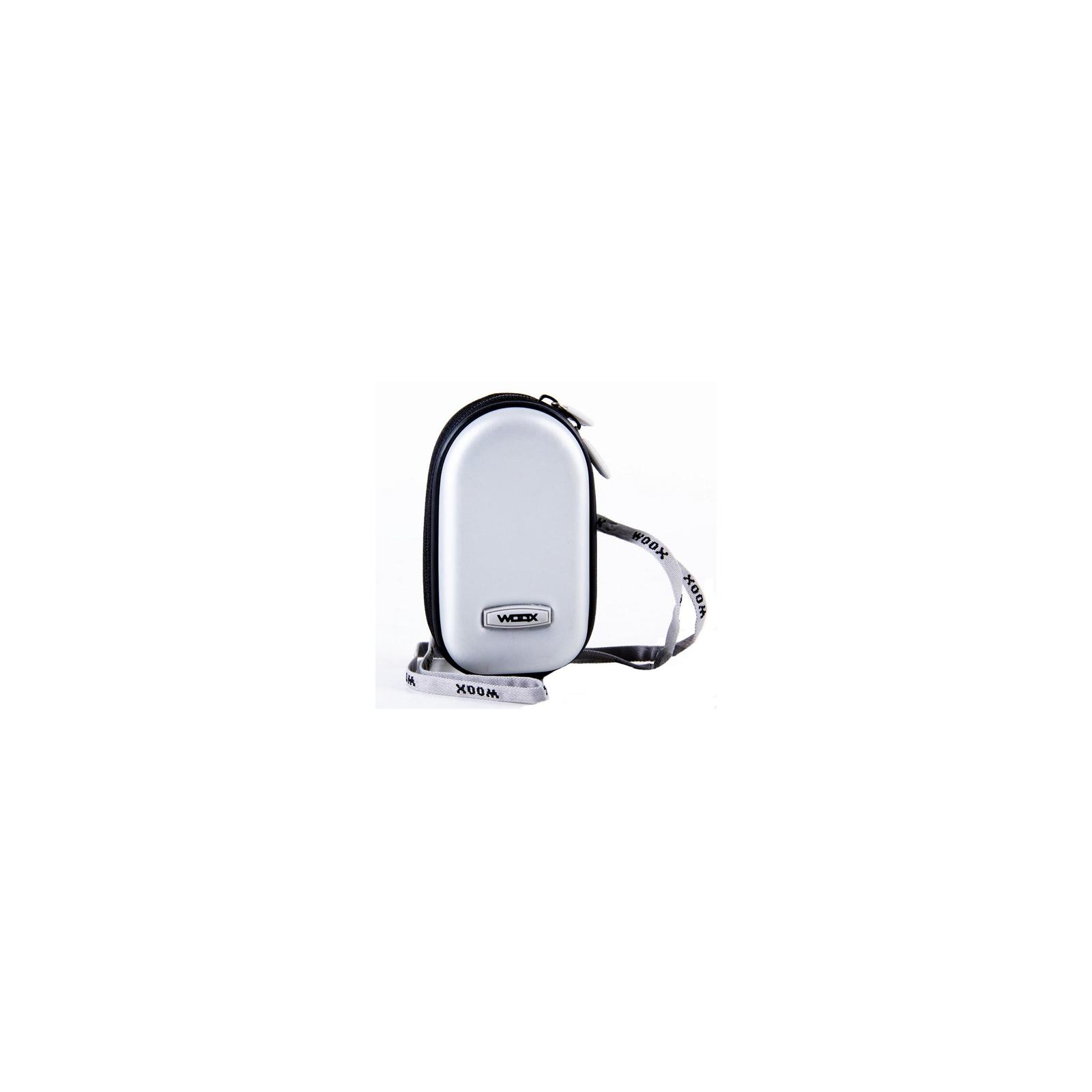 Фото-сумка SUMDEX WOOX silver (WH 02-SL)