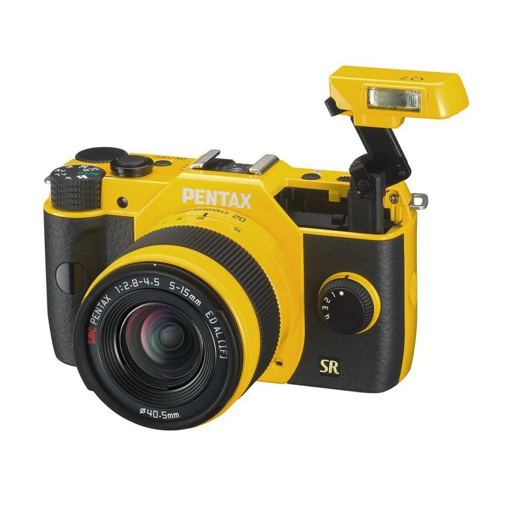 Цифровой фотоаппарат Pentax Q7+ объектив 5-15mm F2.8-4.5 yellow (11553) изображение 2