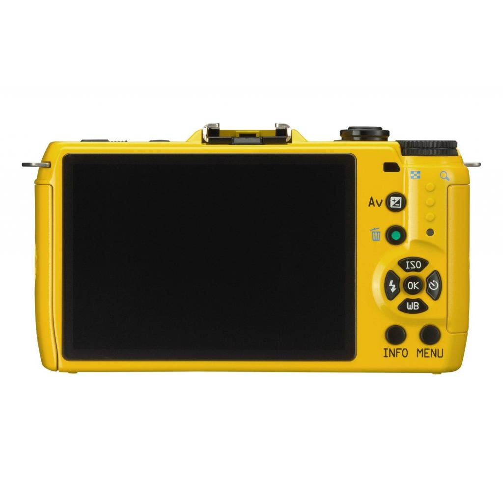 Цифровой фотоаппарат Pentax Q7+ объектив 5-15mm F2.8-4.5 yellow (11553) изображение 4
