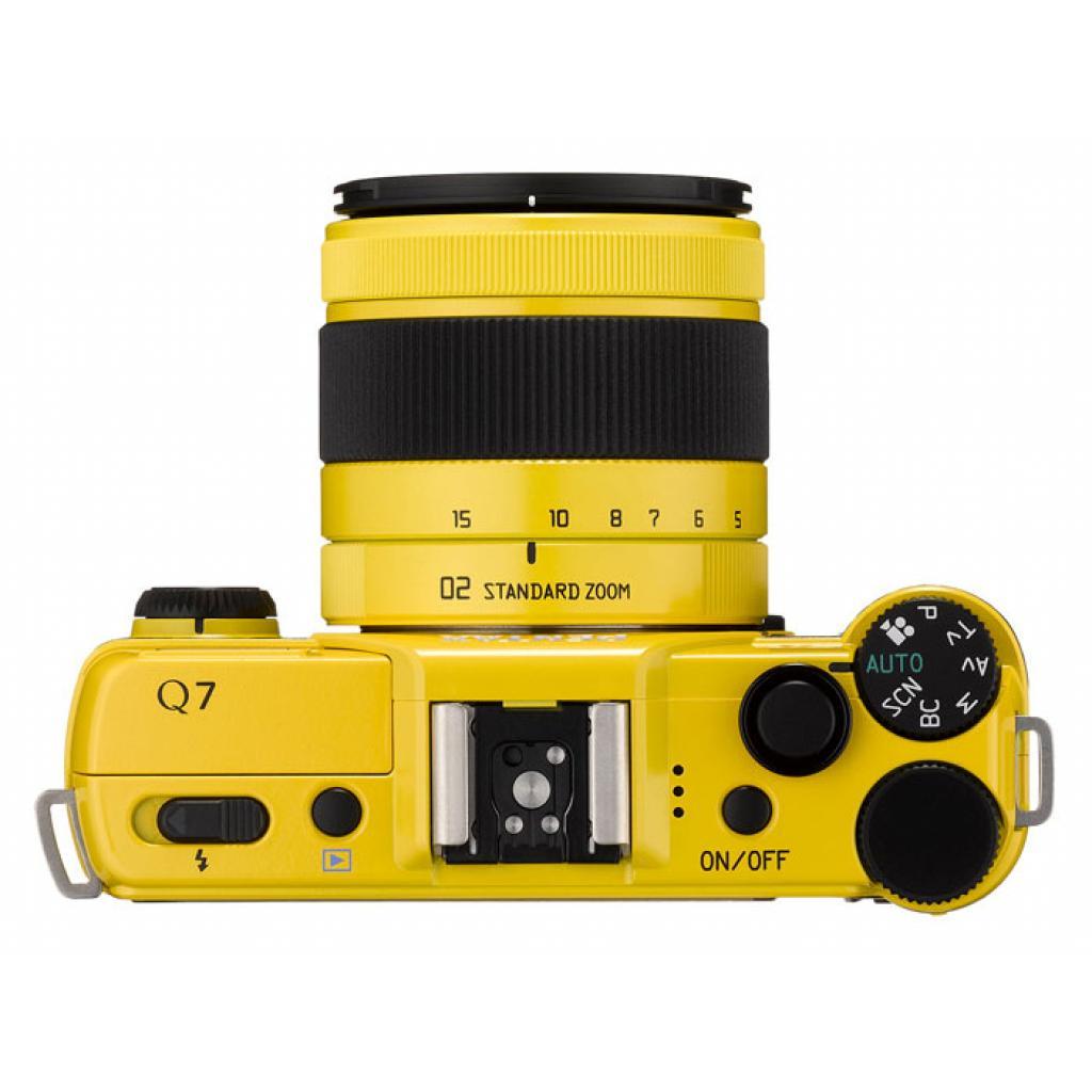 Цифровой фотоаппарат Pentax Q7+ объектив 5-15mm F2.8-4.5 yellow (11553) изображение 5