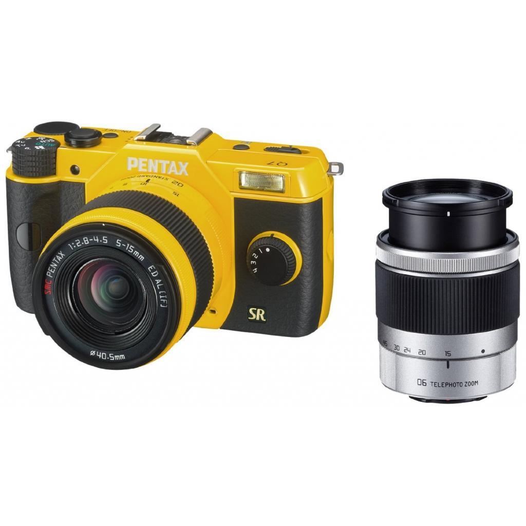 Цифровой фотоаппарат Pentax Q7+ объектив 5-15mm F2.8-4.5 yellow (11553) изображение 6
