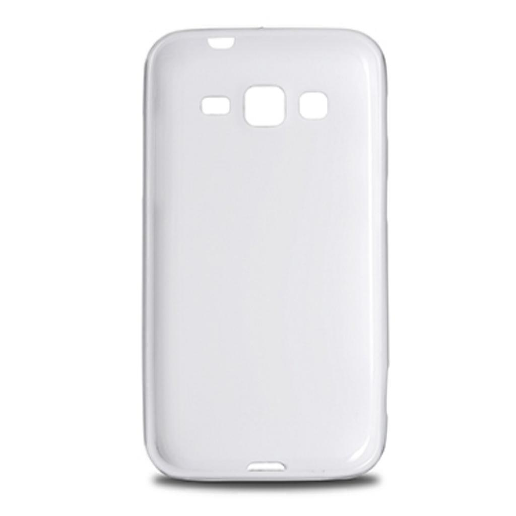 Чехол для моб. телефона Drobak для Samsung Galaxy Core Advance I8580(White)Elastic PU (216064) изображение 2