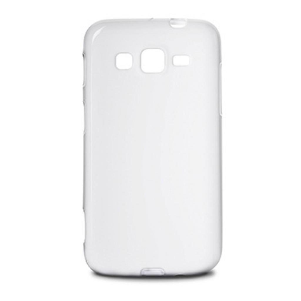 Чехол для моб. телефона Drobak для Samsung Galaxy Core Advance I8580(White)Elastic PU (216064)