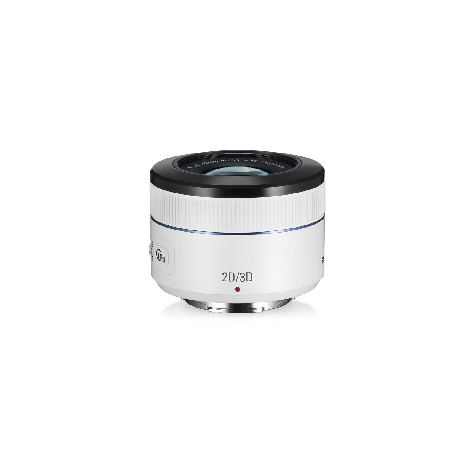 Объектив Samsung EX-S45ADW 45 mm f/1.8 [T6] 2D/3D (EX-S45ADW) изображение 2