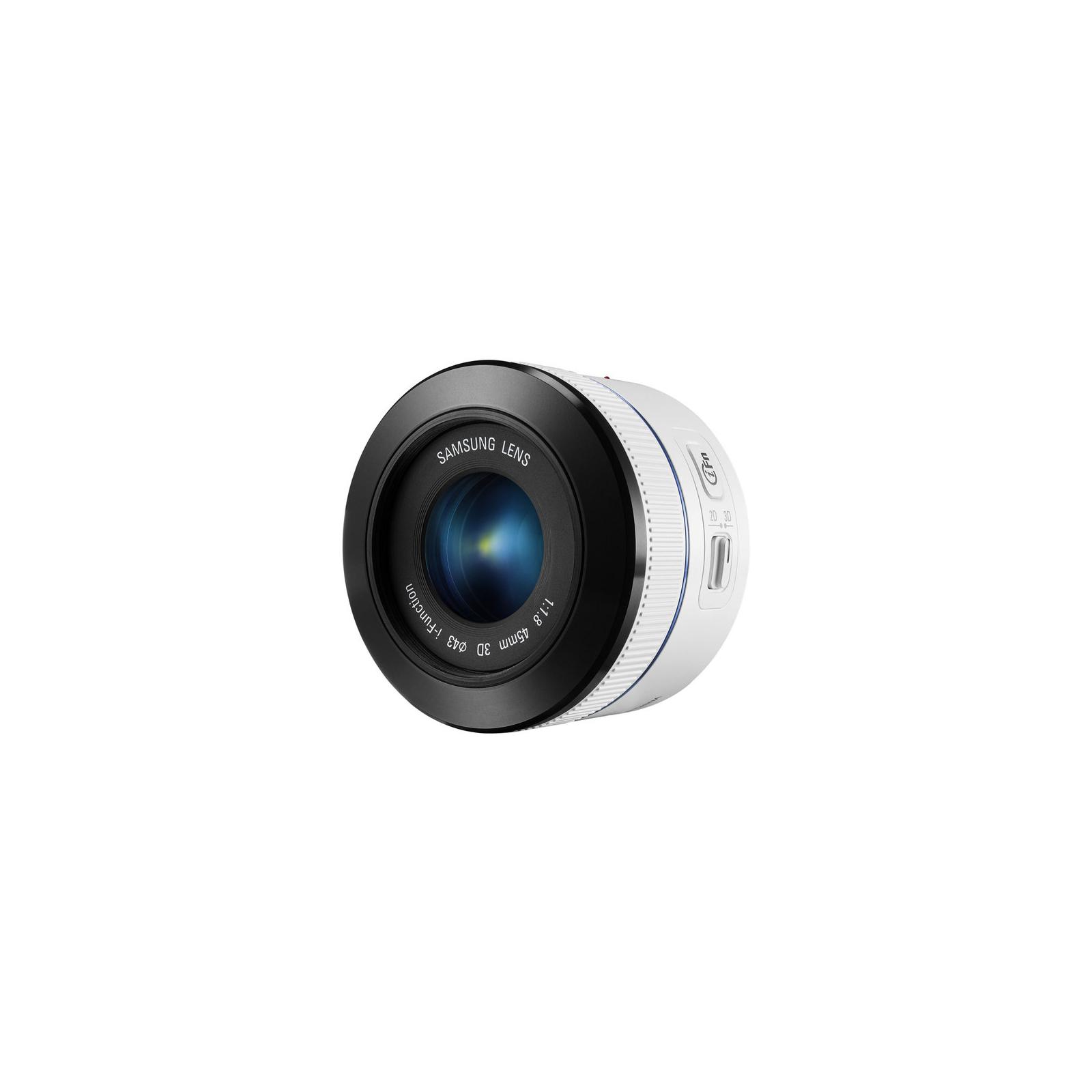 Объектив Samsung EX-S45ADW 45 mm f/1.8 [T6] 2D/3D (EX-S45ADW) изображение 3