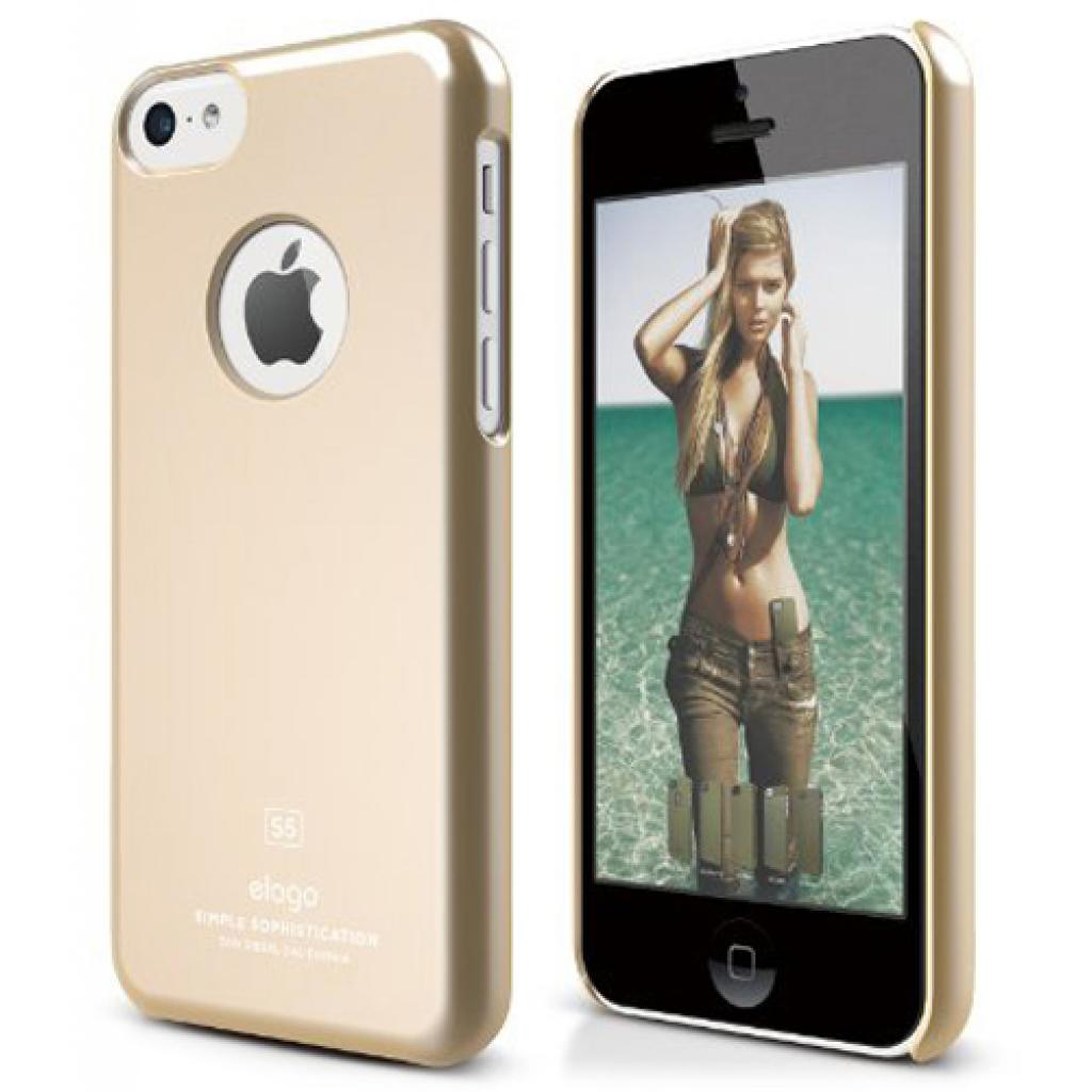 Чехол для моб. телефона ELAGO для iPhone 5C /Slim Fit/Gold (ES5CSM-SFGD-RT)