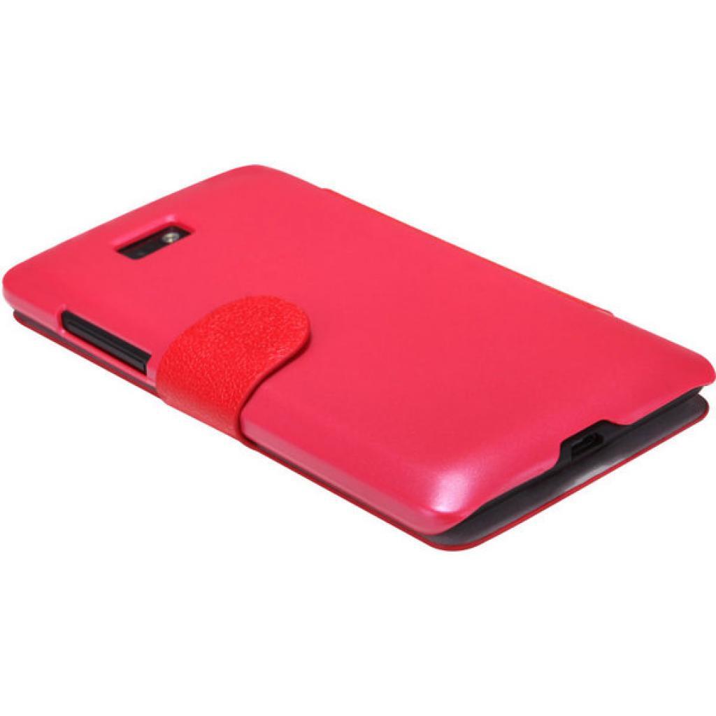 Чехол для моб. телефона NILLKIN для HTC Desire 600 /Fresh/ Leather/Red (6088699) изображение 2