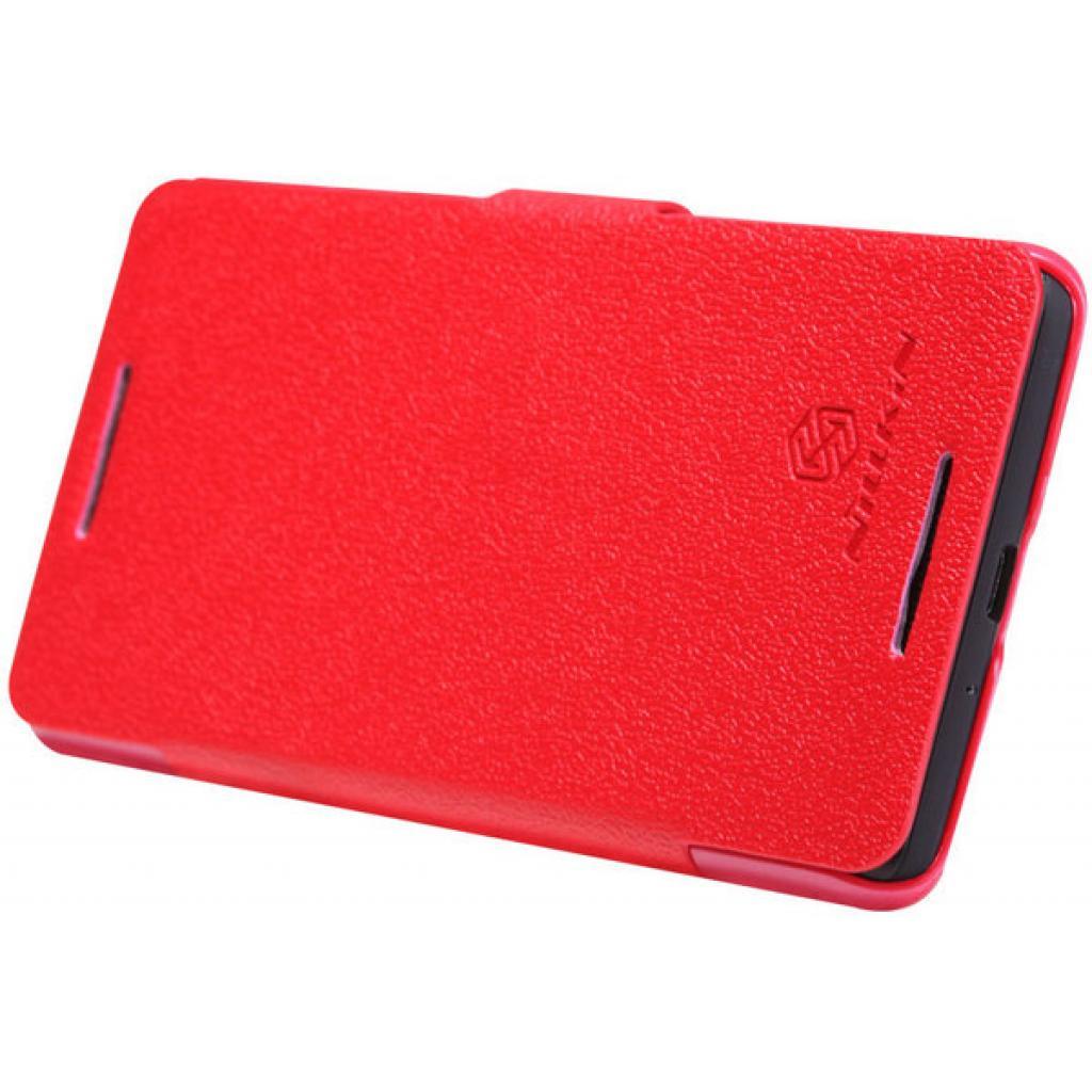 Чехол для моб. телефона NILLKIN для HTC Desire 600 /Fresh/ Leather/Red (6088699) изображение 3