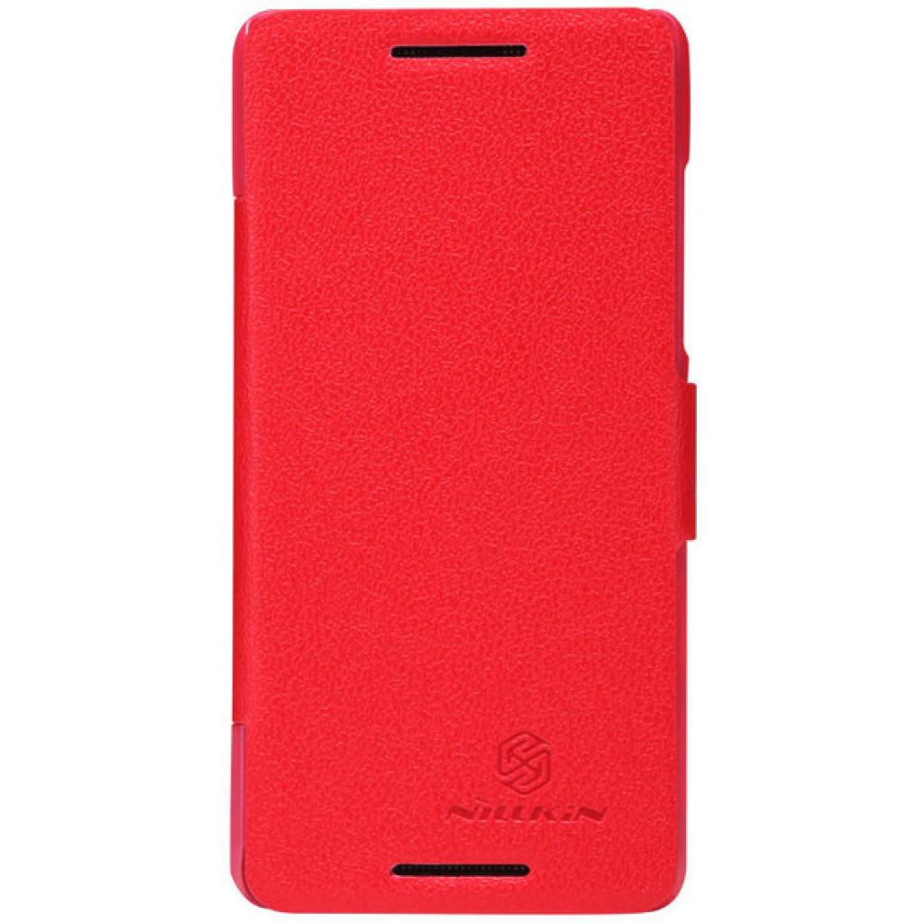 Чехол для моб. телефона NILLKIN для HTC Desire 600 /Fresh/ Leather/Red (6088699)