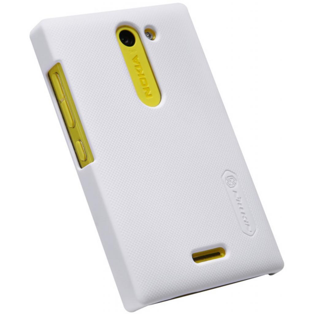 Чехол для моб. телефона NILLKIN для Nokia 502 /Super Frosted Shield/White (6116669) изображение 2