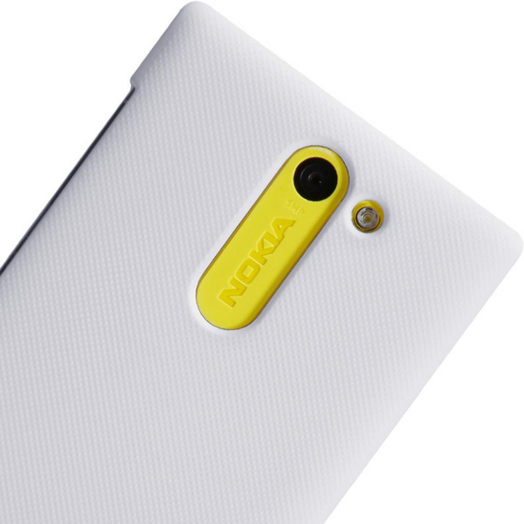 Чехол для моб. телефона NILLKIN для Nokia 502 /Super Frosted Shield/White (6116669) изображение 5