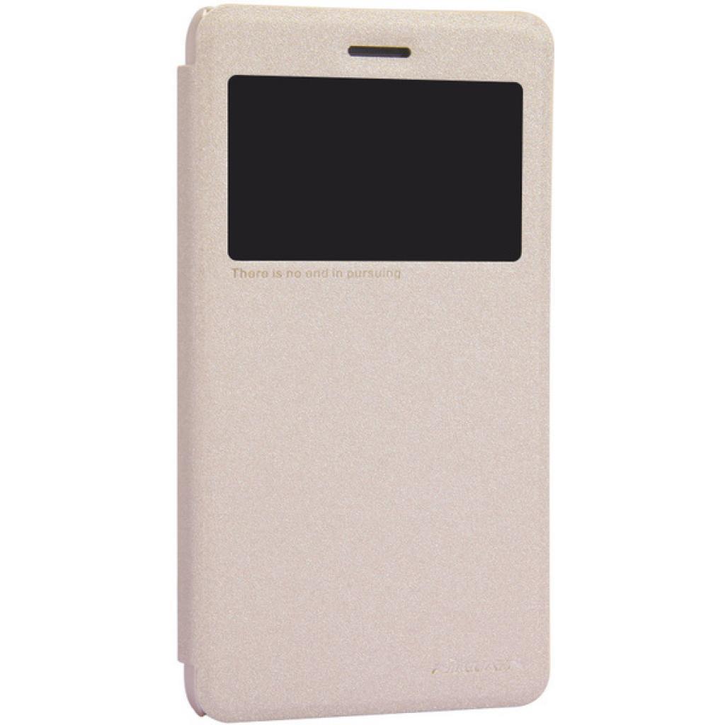 Чехол для моб. телефона NILLKIN для Lenovo S860 /Spark/ Leather/Golden (6154921) изображение 2