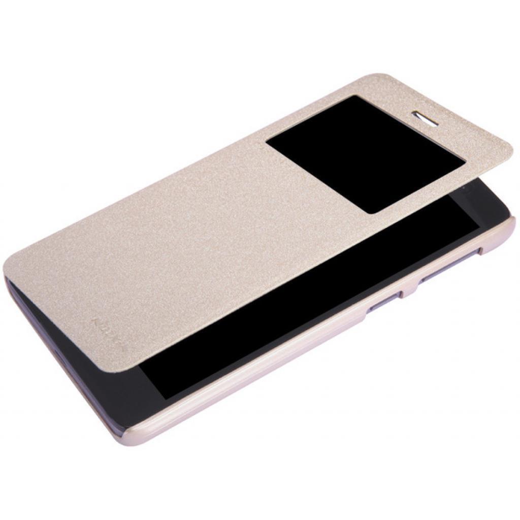Чехол для моб. телефона NILLKIN для Lenovo S860 /Spark/ Leather/Golden (6154921) изображение 3
