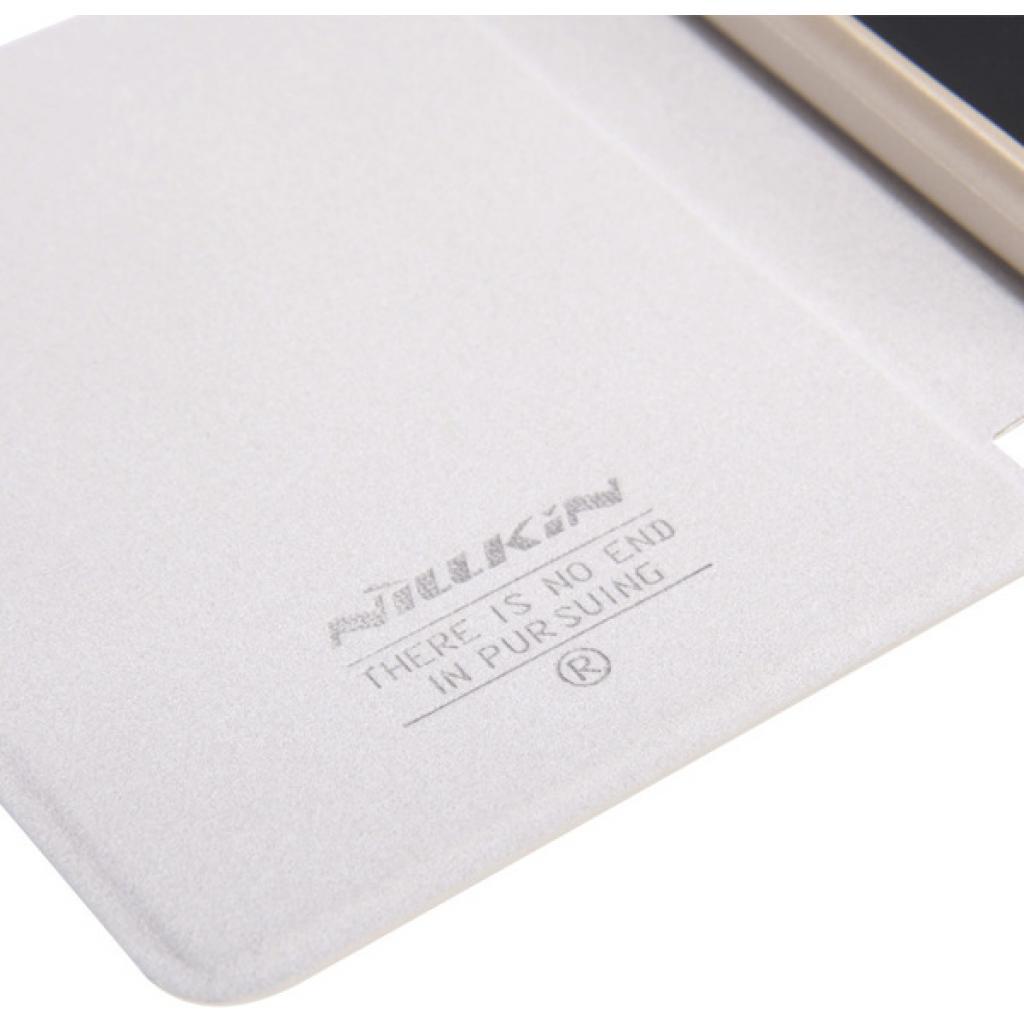 Чехол для моб. телефона NILLKIN для Lenovo S860 /Spark/ Leather/Golden (6154921) изображение 4