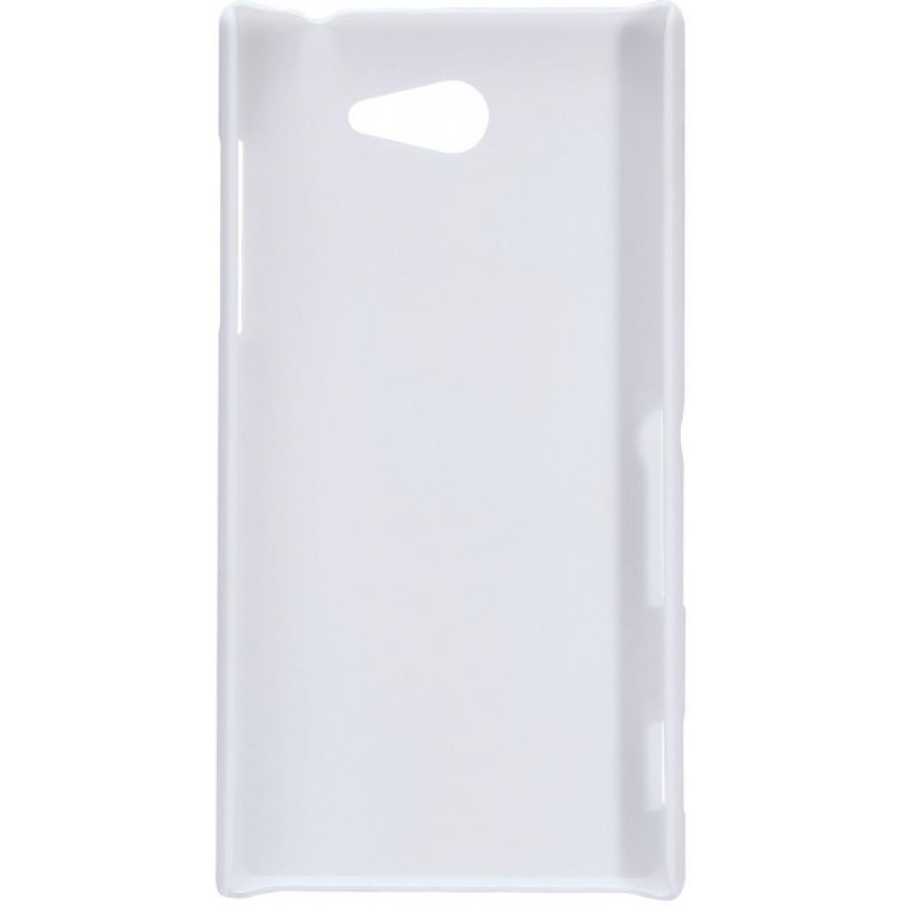 Чехол для моб. телефона NILLKIN для Sony Xperia M2 /Super Frosted Shield/White (6147174) изображение 2