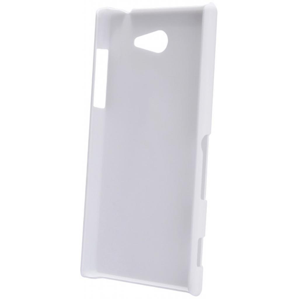 Чехол для моб. телефона NILLKIN для Sony Xperia M2 /Super Frosted Shield/White (6147174) изображение 4
