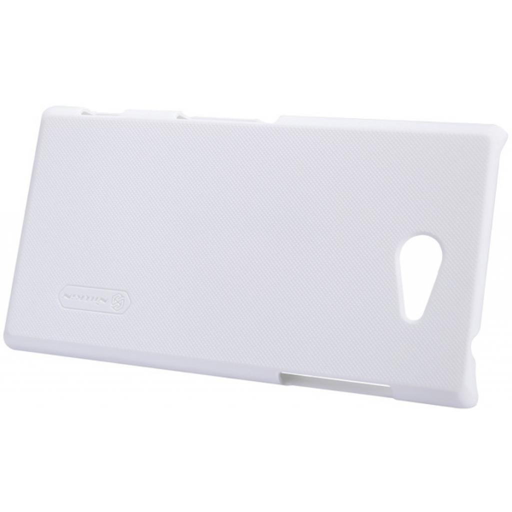Чехол для моб. телефона NILLKIN для Sony Xperia M2 /Super Frosted Shield/White (6147174) изображение 5