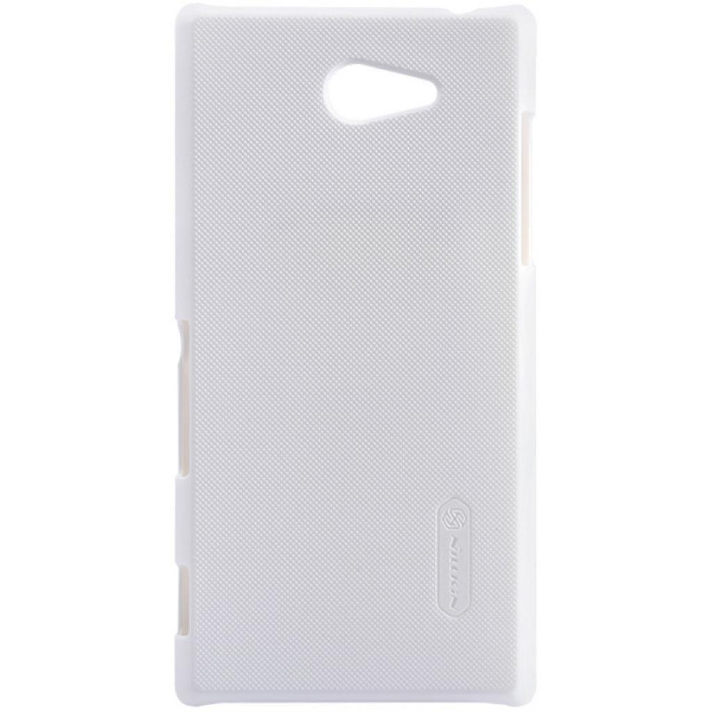 Чехол для моб. телефона NILLKIN для Sony Xperia M2 /Super Frosted Shield/White (6147174)
