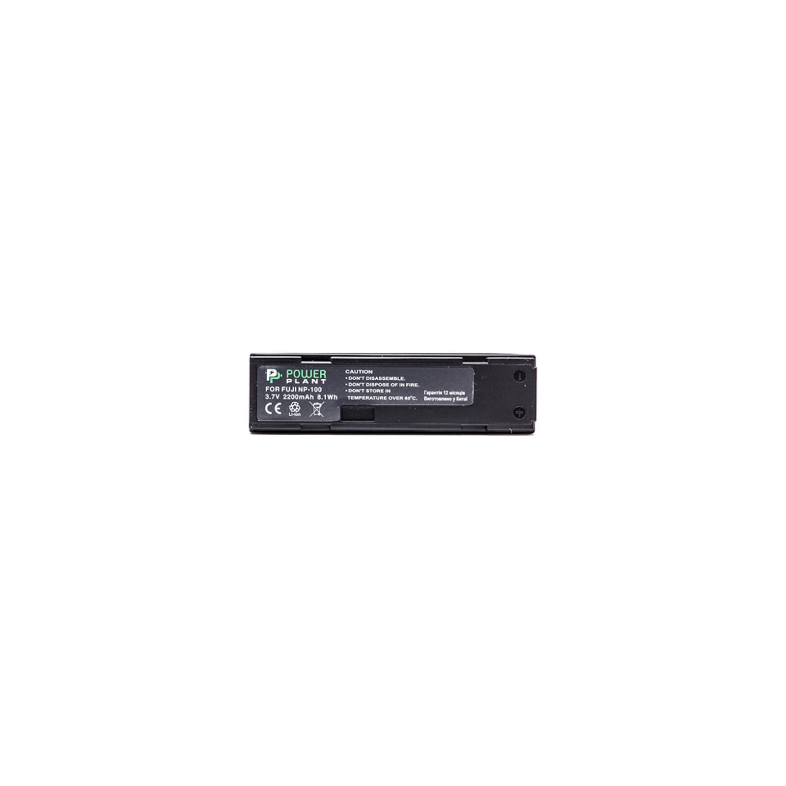 Аккумулятор к фото/видео PowerPlant Fuji NP-100 (DV00DV1049) изображение 2