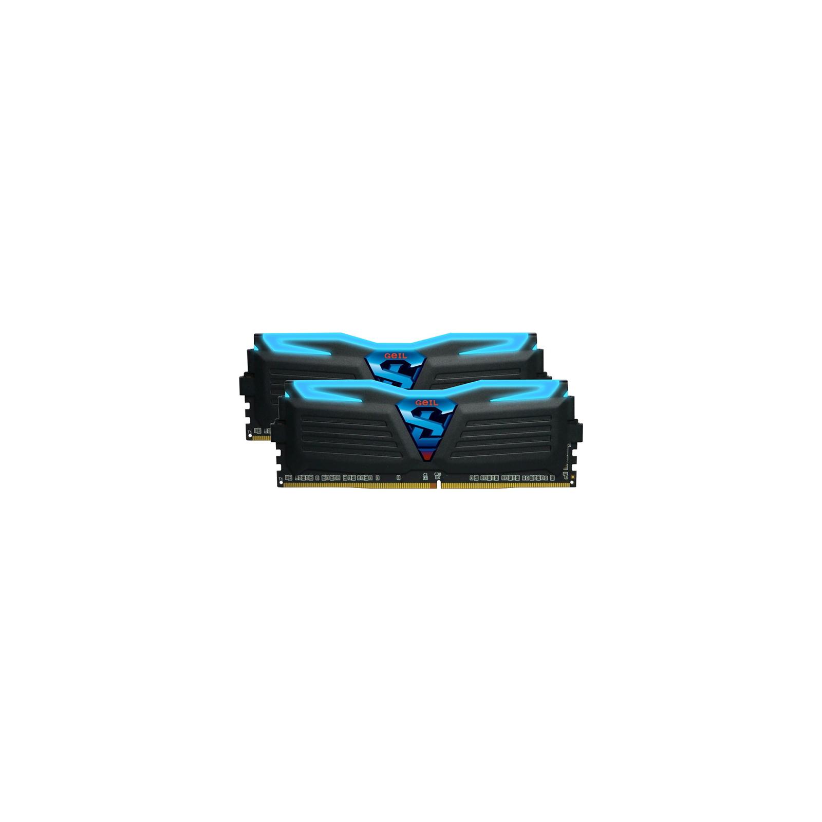 Модуль памяти для компьютера DDR4 8GB (2x4GB) 2666 MHz Super Luce GEIL (GLB48GB2666C15DC) изображение 2