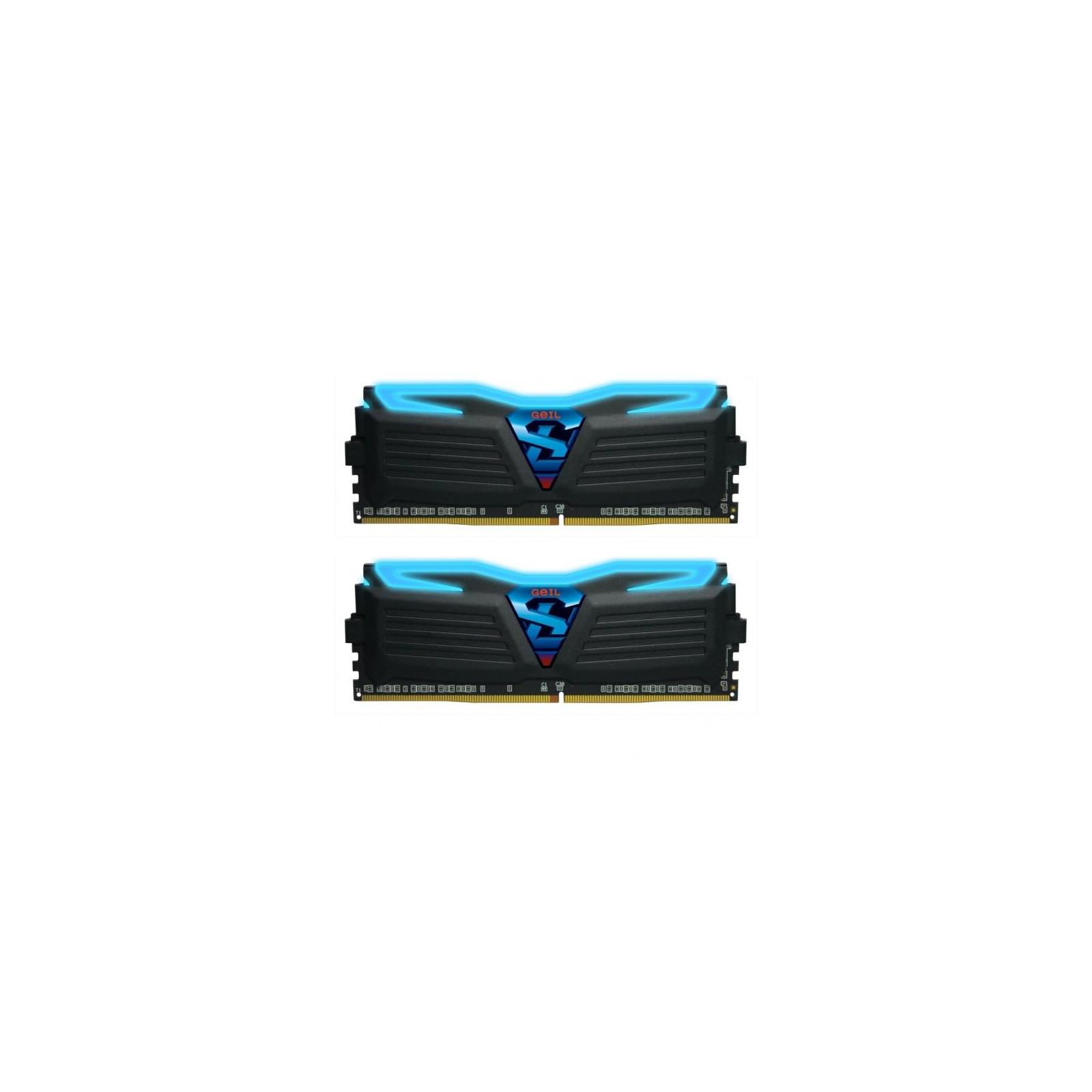 Модуль памяти для компьютера DDR4 8GB (2x4GB) 2666 MHz Super Luce GEIL (GLB48GB2666C15DC)