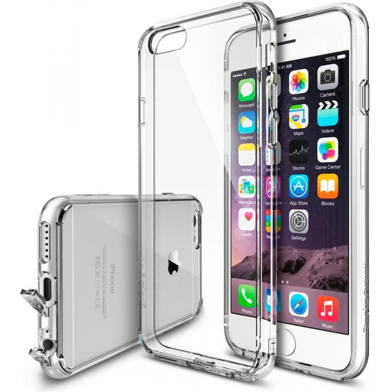 Чехол для моб. телефона Ringke Fusion для Apple iPhone 6/6S (Crystal View) (550074)