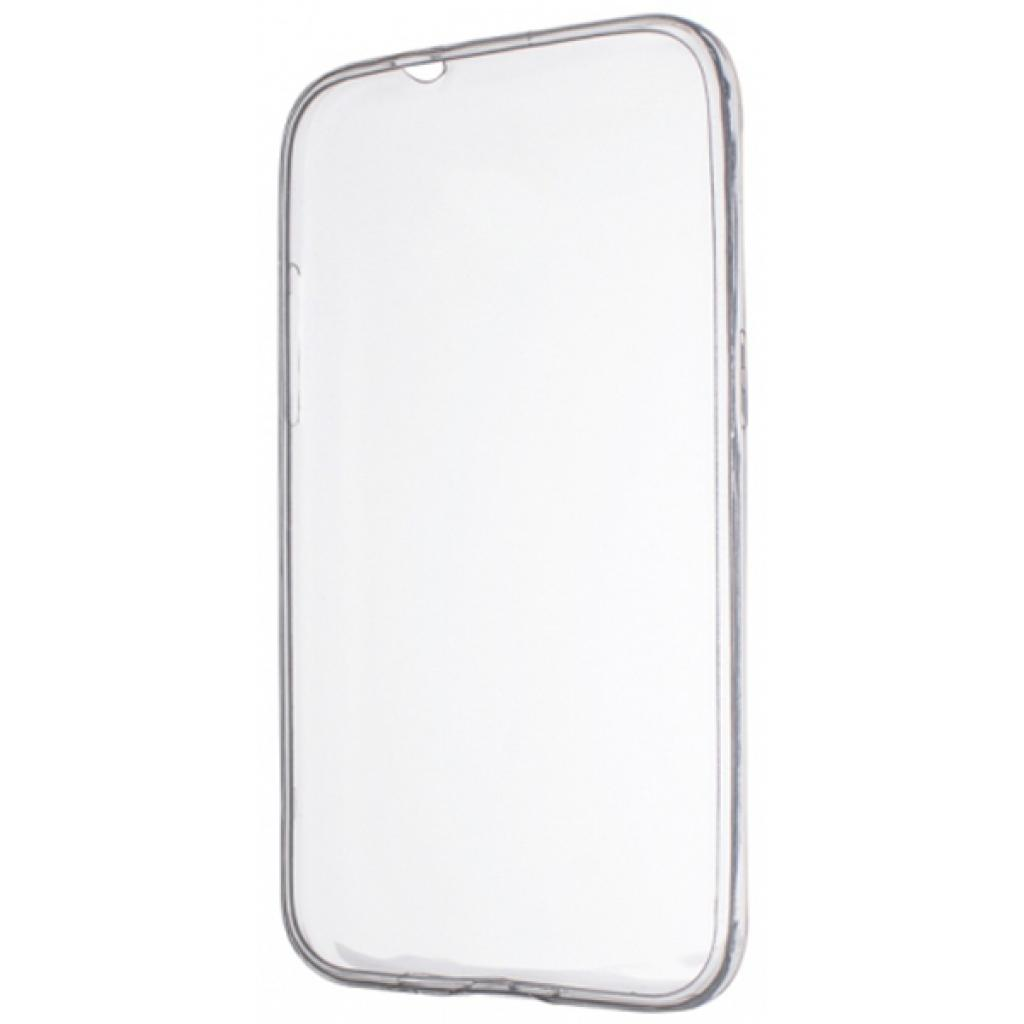 Чехол для моб. телефона Drobak Elastic PU для Lenovo A6010 White Clear (219220)