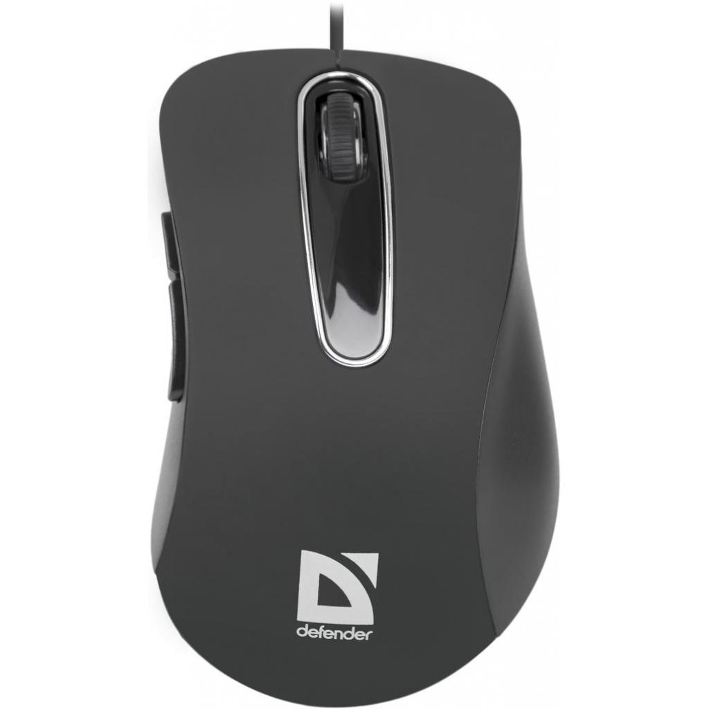 Мышка Defender Datum MM-070 Black (52070) изображение 2