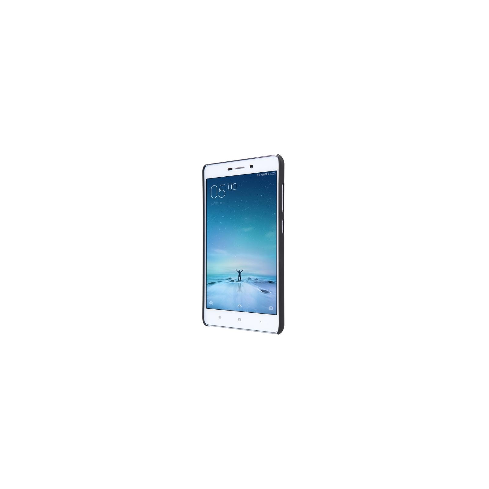 Чехол для моб. телефона NILLKIN для Xiaomi Redmi3 - Super Frosted Shield (Black) (6274141) изображение 4