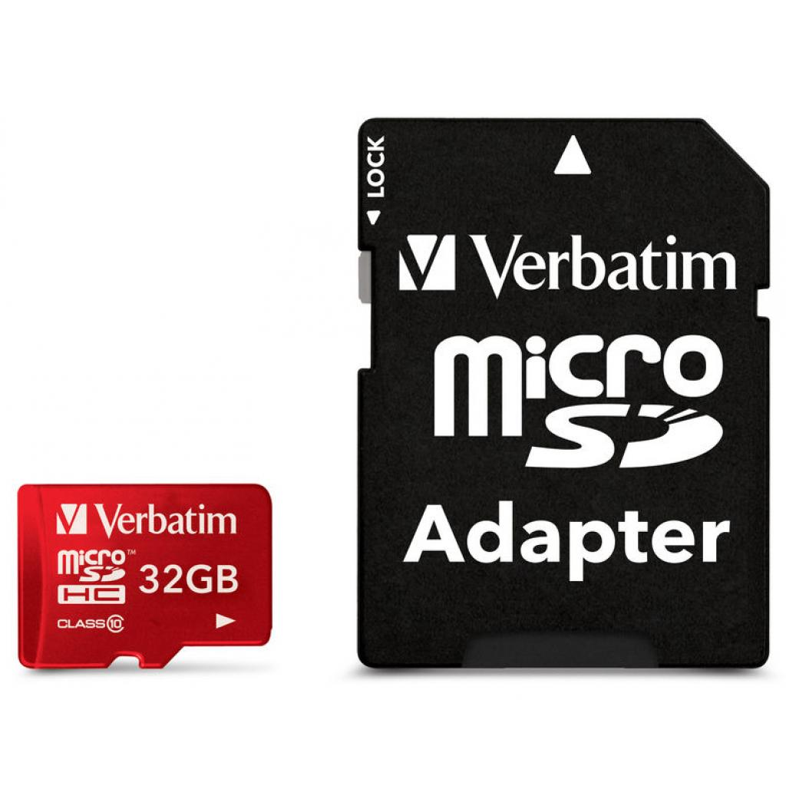 Карта памяти Verbatim 32GB microSDHC class 10 (#44044)