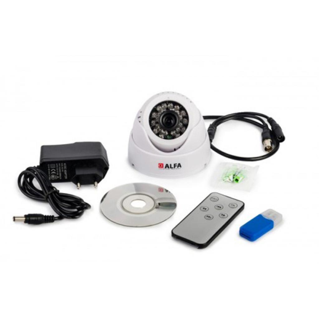 Комплект видеонаблюдения ALFA Agent 008TV