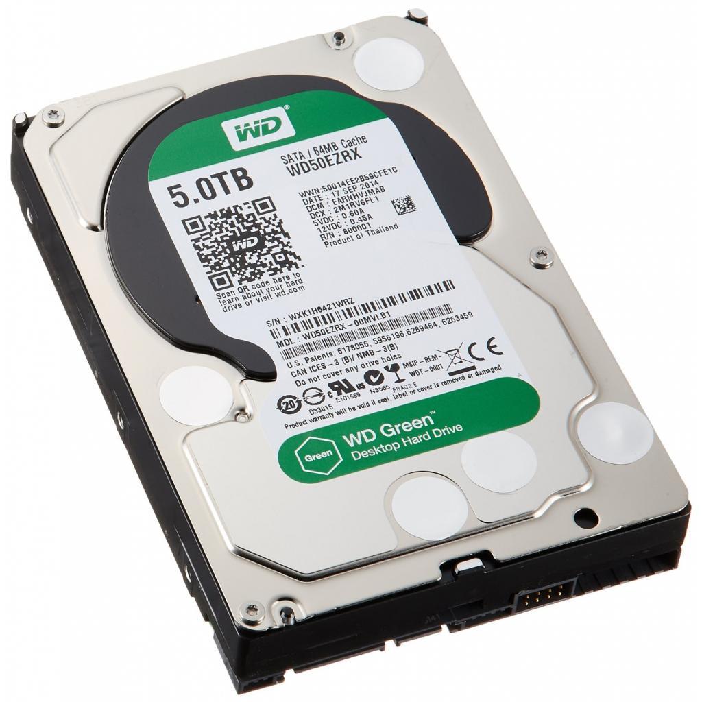 """Жесткий диск 3.5"""" 5TB Western Digital (WD50EZRX) изображение 2"""