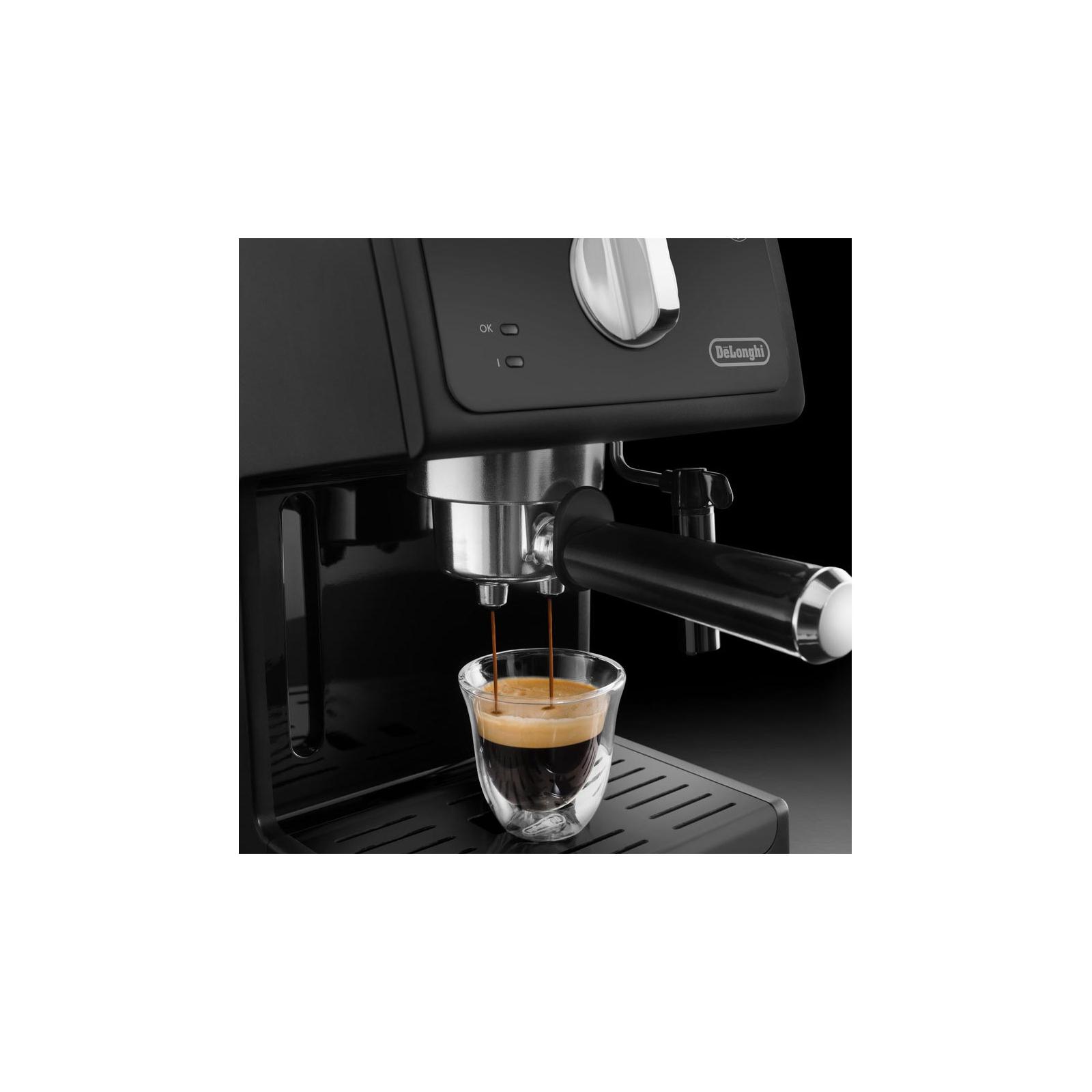 Кофеварка DeLonghi ECP 31.21 BK изображение 3