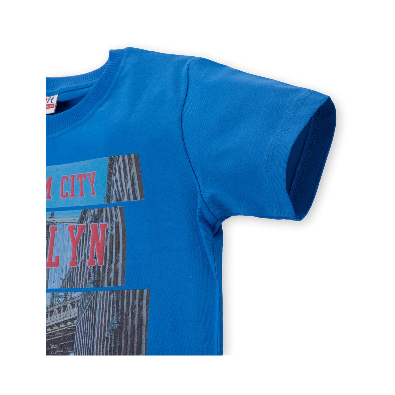 """Футболка детская E&H """"BROOKLYN"""" (8888-128B-blue) изображение 2"""