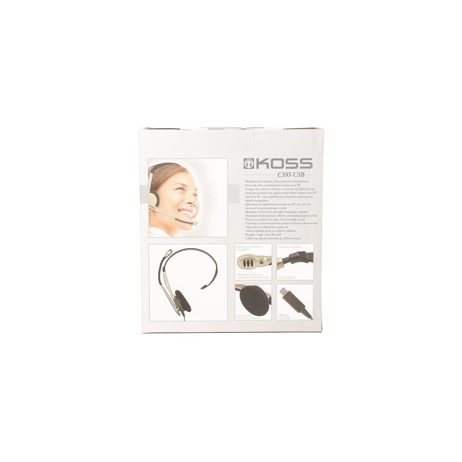 Наушники Koss CS95 USB Mono (CS95 USB) изображение 5