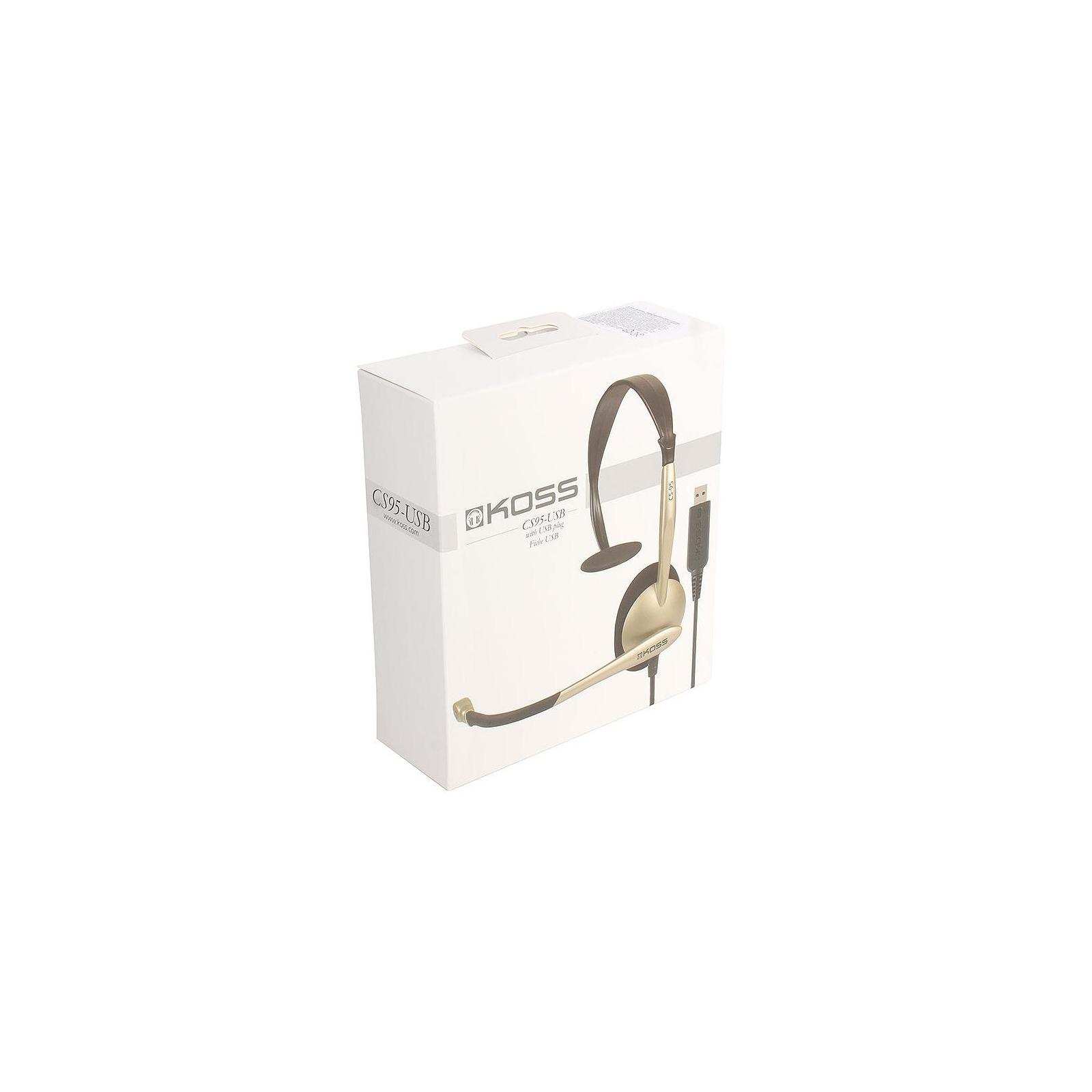 Наушники Koss CS95 USB Mono (CS95 USB) изображение 6