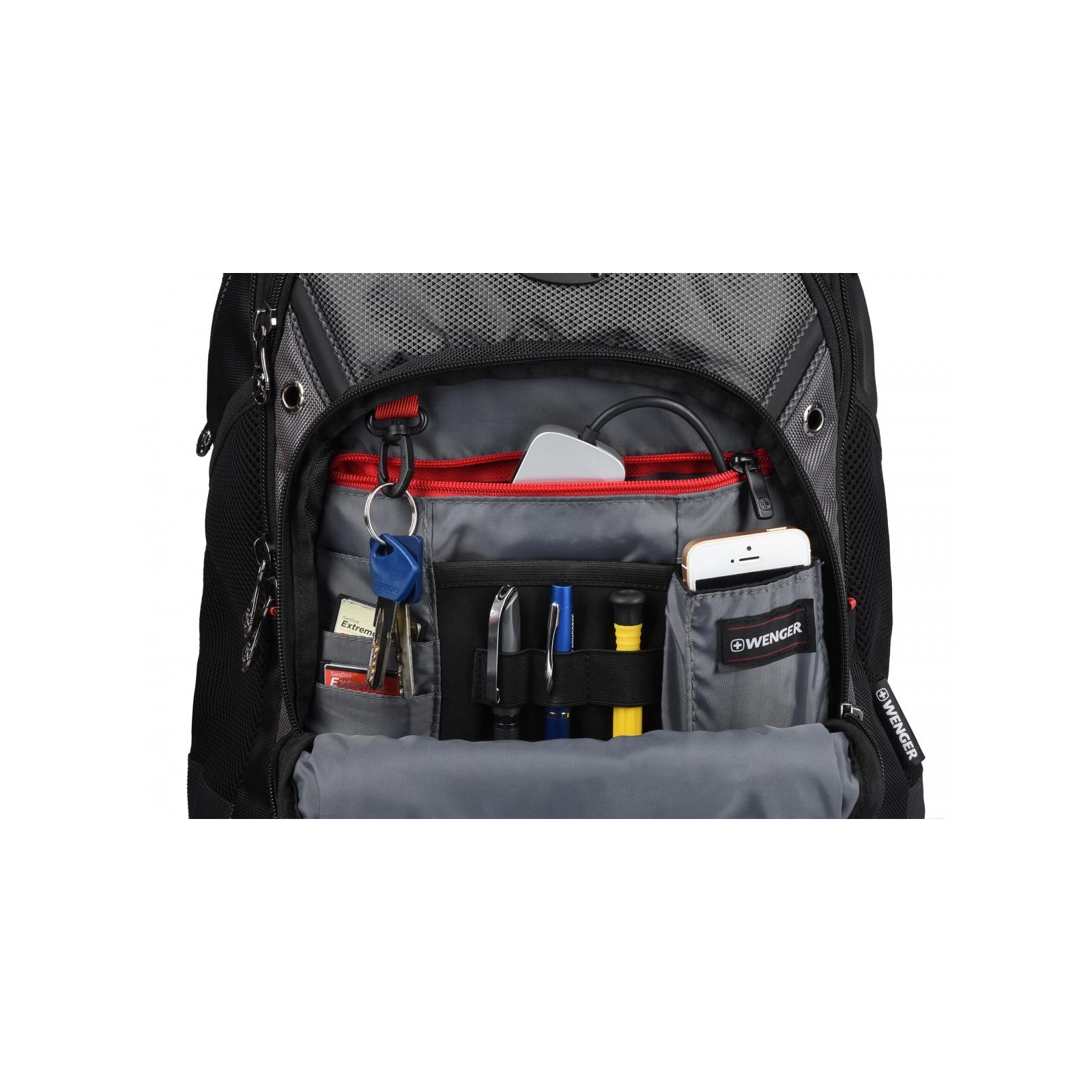 "Рюкзак для ноутбука Wenger 16"" Synergy Black/Gray (600635) изображение 6"