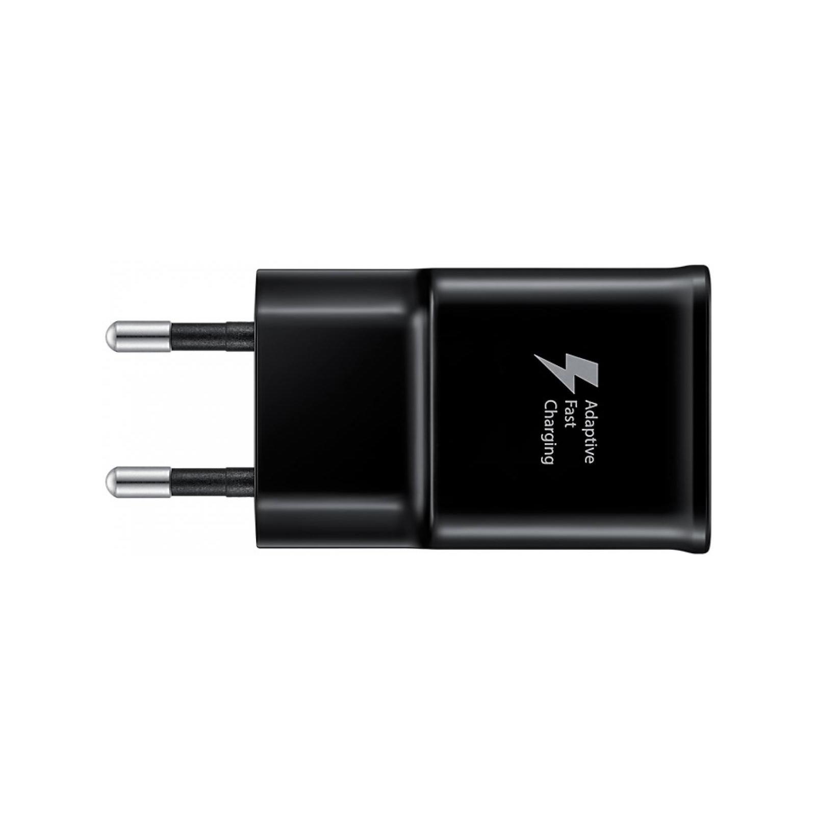 Зарядное устройство Samsung 2A + Type-C Cable (Fast Charging) Black (EP-TA20EBECGRU) изображение 3