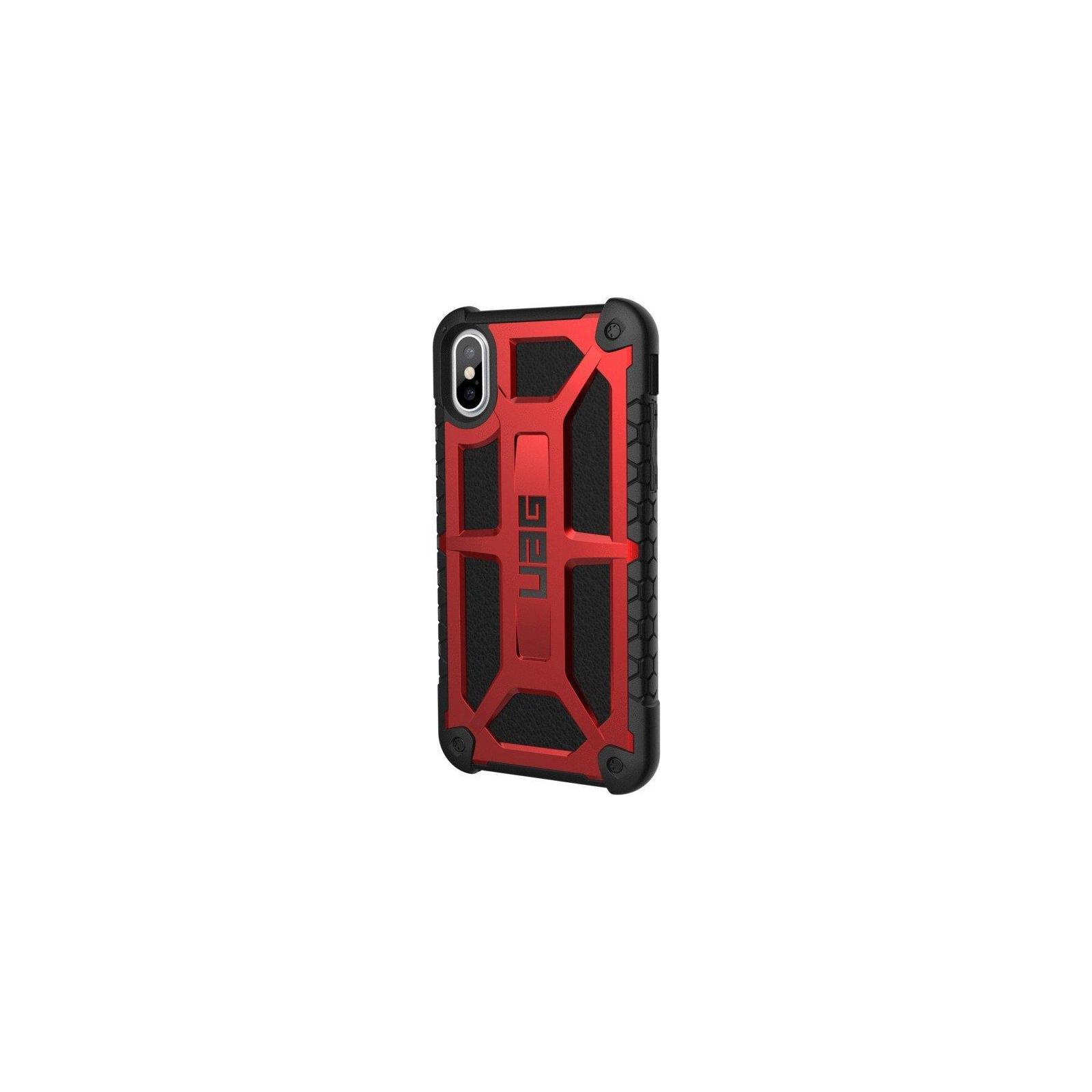 Чехол для моб. телефона Urban Armor Gear iPhone X Monarch Crimson (IPHX-M-CR) изображение 3