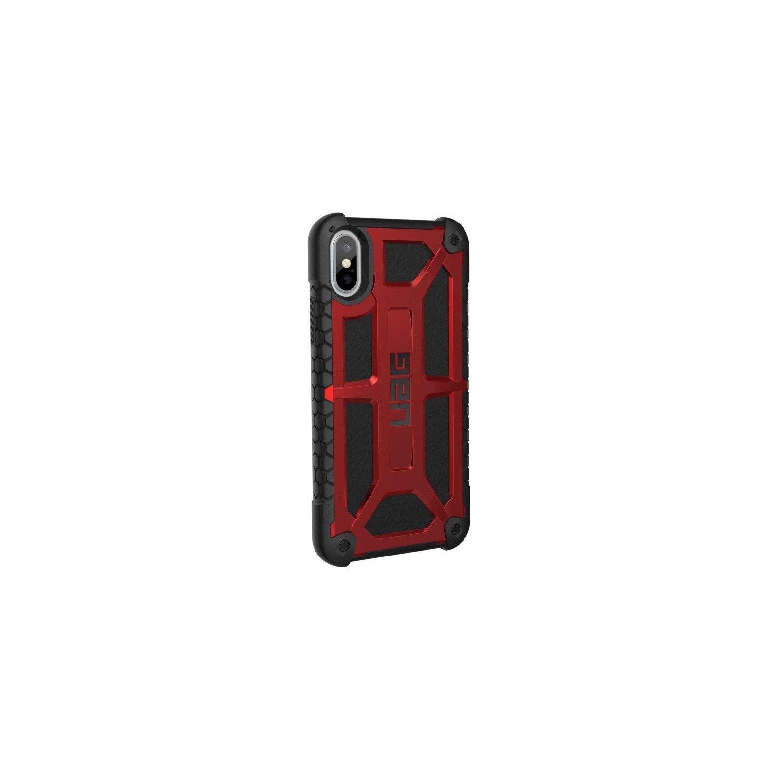 Чехол для моб. телефона Urban Armor Gear iPhone X Monarch Crimson (IPHX-M-CR) изображение 4