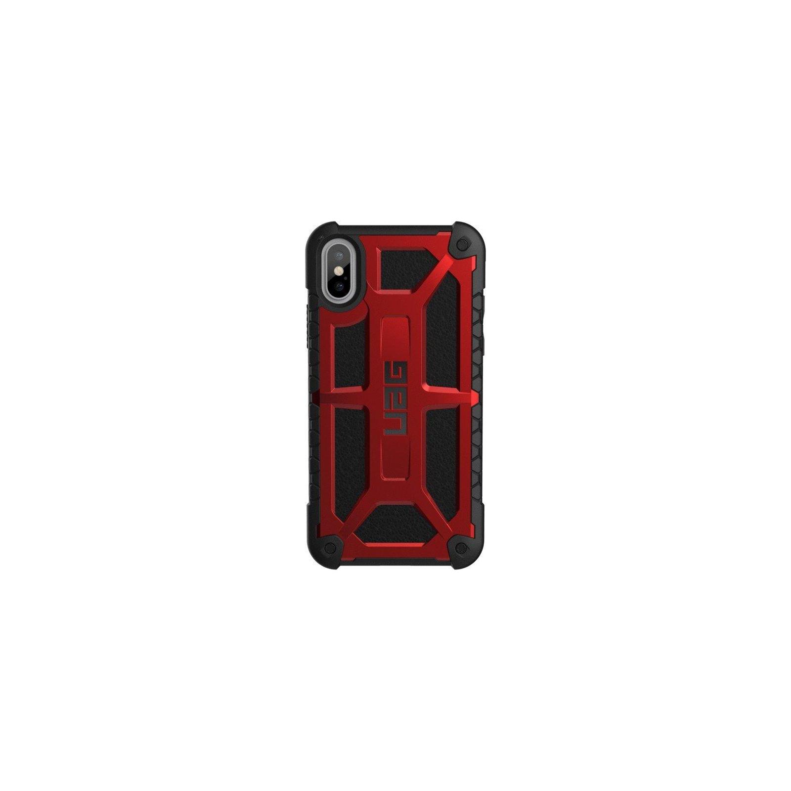 Чехол для моб. телефона Urban Armor Gear iPhone X Monarch Crimson (IPHX-M-CR)