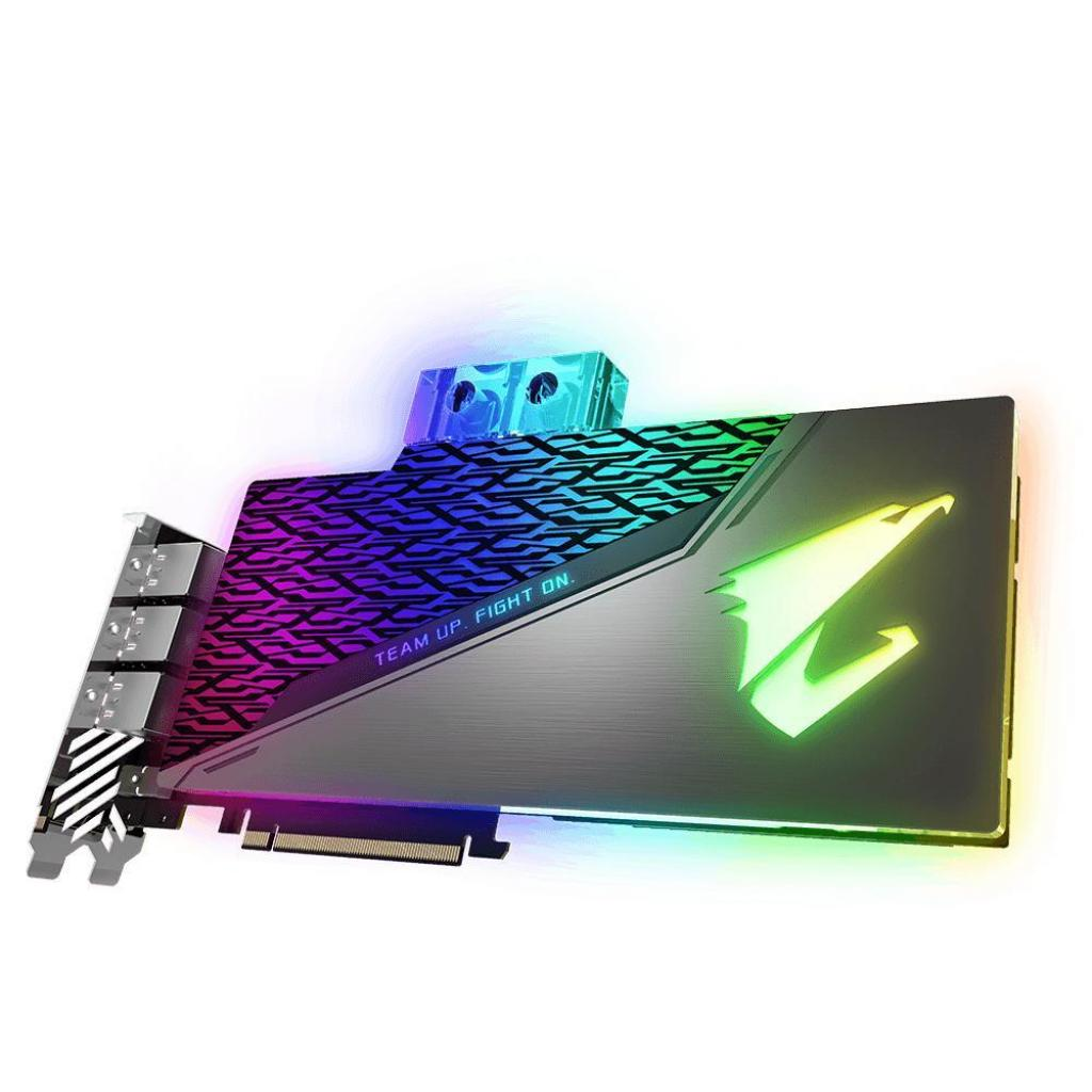 Видеокарта GIGABYTE GeForce RTX2080 Ti 11Gb AORUS XTREME WATERFORCE WB (GV-N208TAORUSX WB-11GC) изображение 2