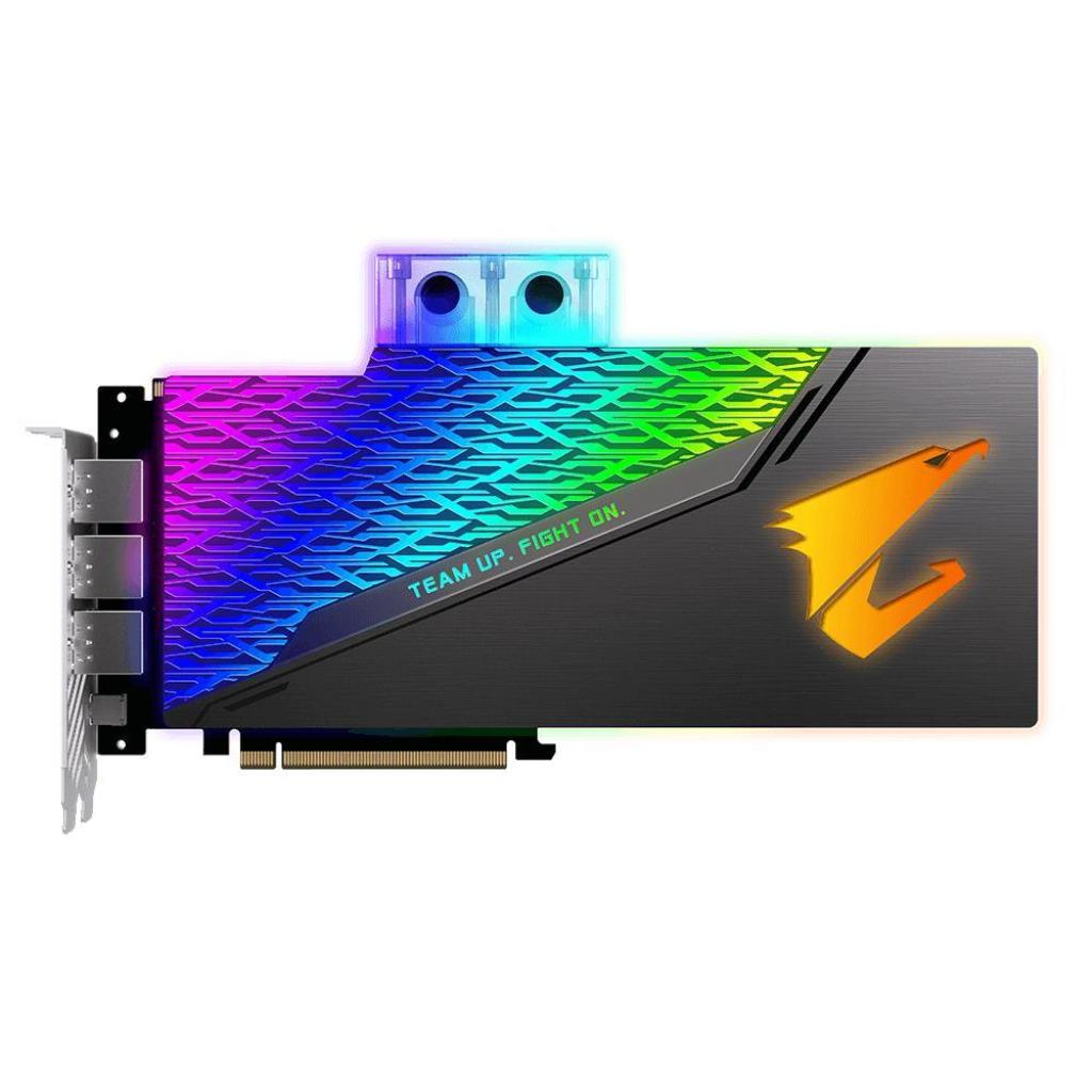 Видеокарта GIGABYTE GeForce RTX2080 Ti 11Gb AORUS XTREME WATERFORCE WB (GV-N208TAORUSX WB-11GC) изображение 3