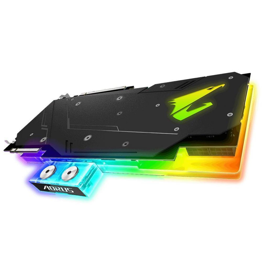 Видеокарта GIGABYTE GeForce RTX2080 Ti 11Gb AORUS XTREME WATERFORCE WB (GV-N208TAORUSX WB-11GC) изображение 4