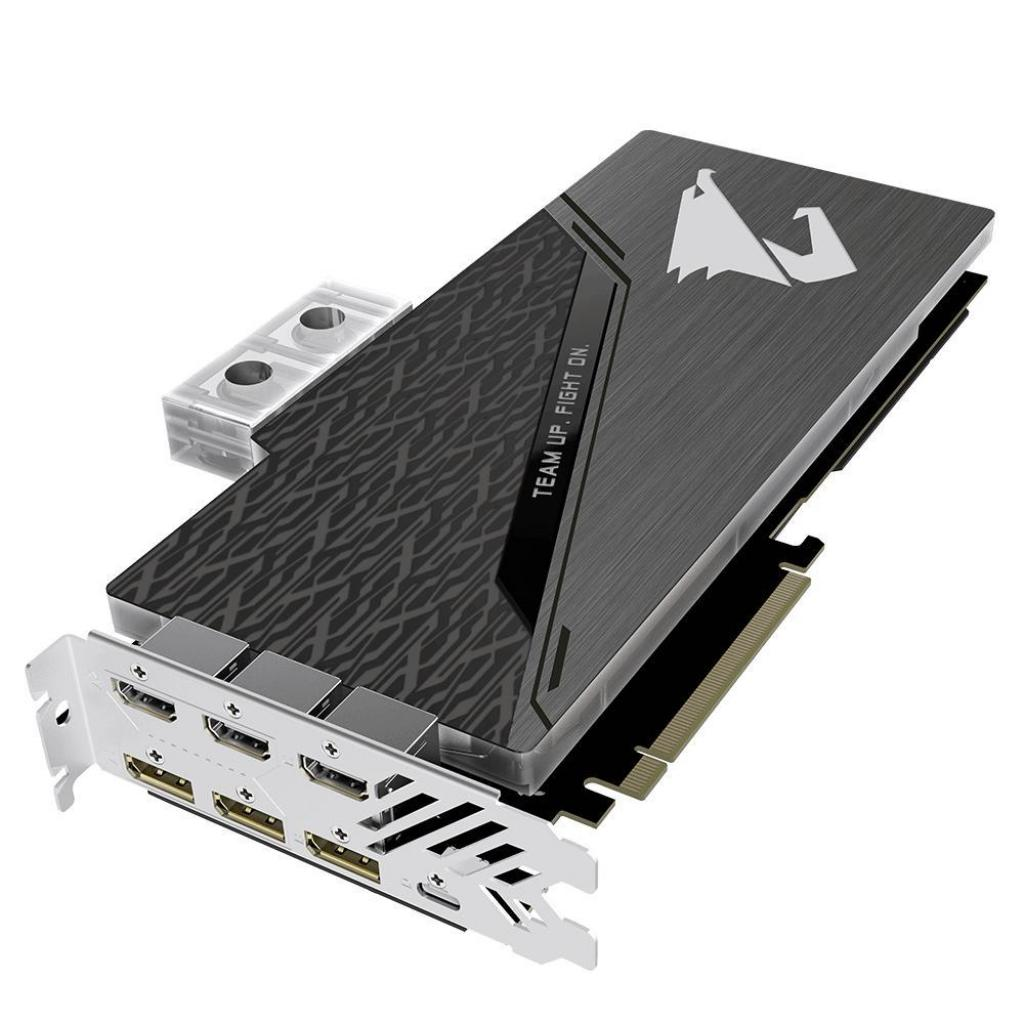 Видеокарта GIGABYTE GeForce RTX2080 Ti 11Gb AORUS XTREME WATERFORCE WB (GV-N208TAORUSX WB-11GC) изображение 5