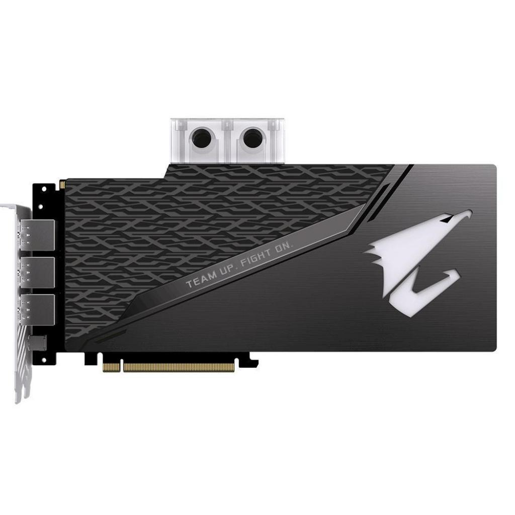 Видеокарта GIGABYTE GeForce RTX2080 Ti 11Gb AORUS XTREME WATERFORCE WB (GV-N208TAORUSX WB-11GC) изображение 6