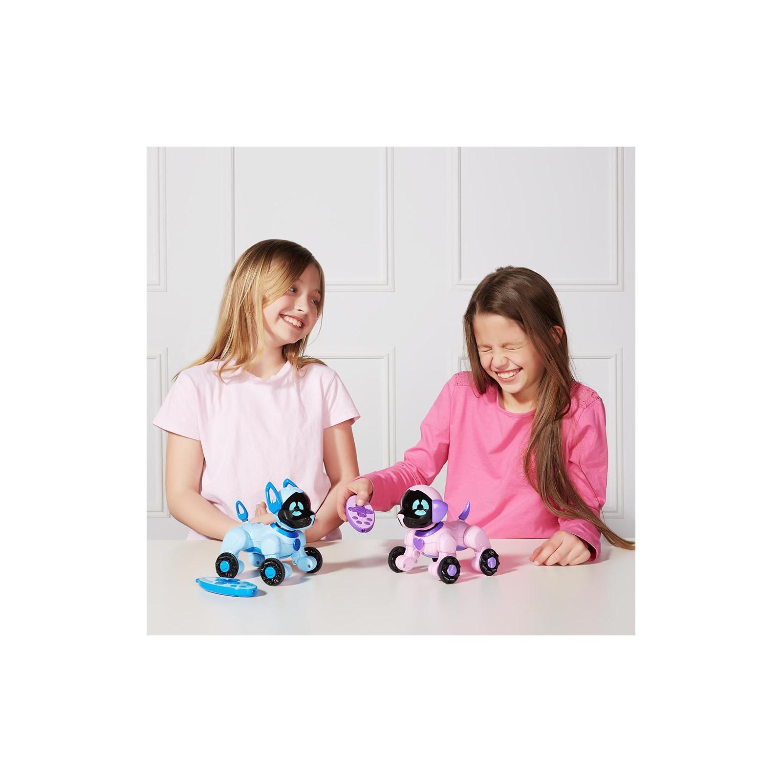 Интерактивная игрушка WowWee Маленький щенок Чип розовый (W2804/3817) изображение 7