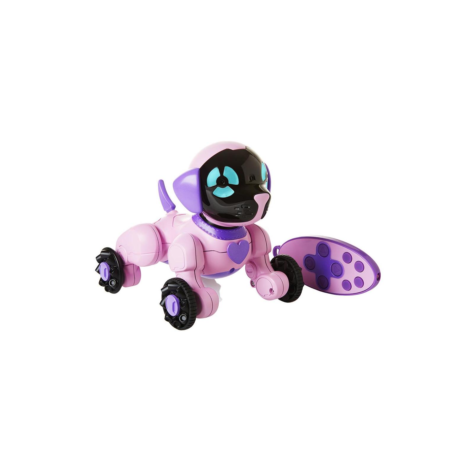 Интерактивная игрушка WowWee Маленький щенок Чип розовый (W2804/3817)
